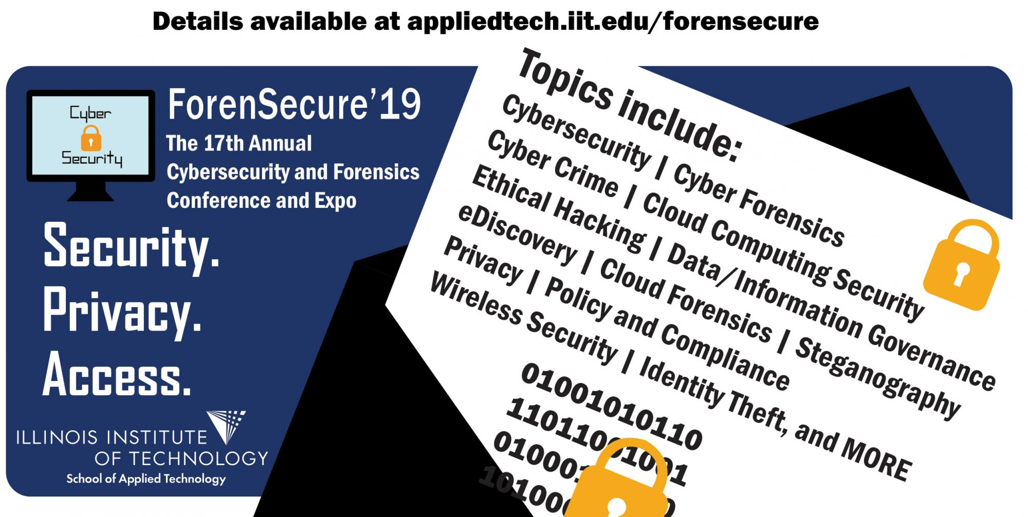 ForenSecure'19 Posters