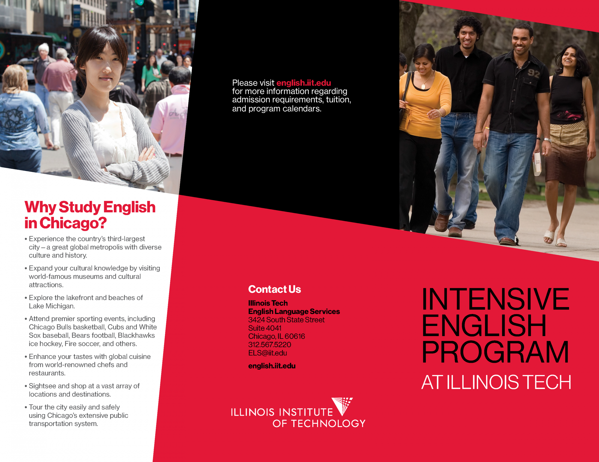Intensive English Program at Illinois Tech Brochure