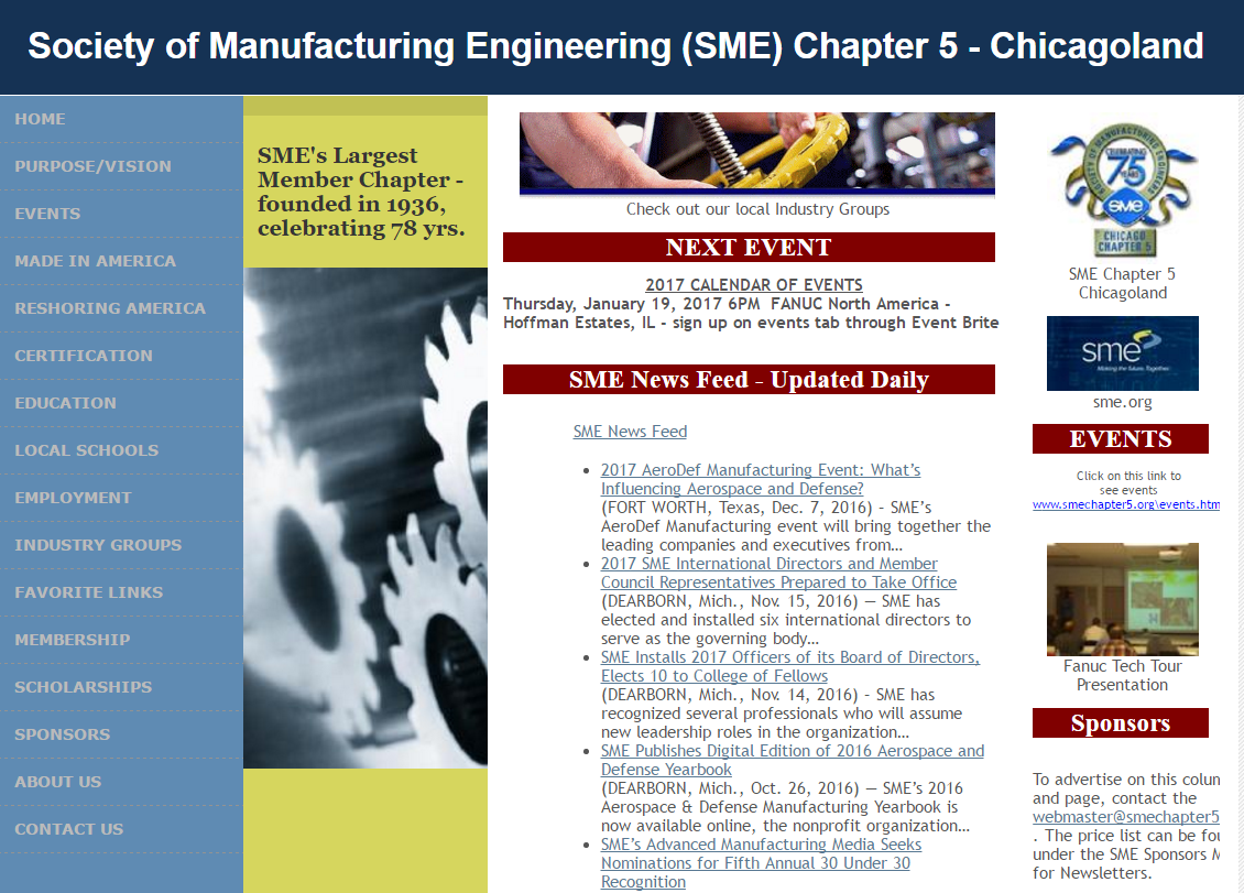 Society of Manufacturing Engg Image