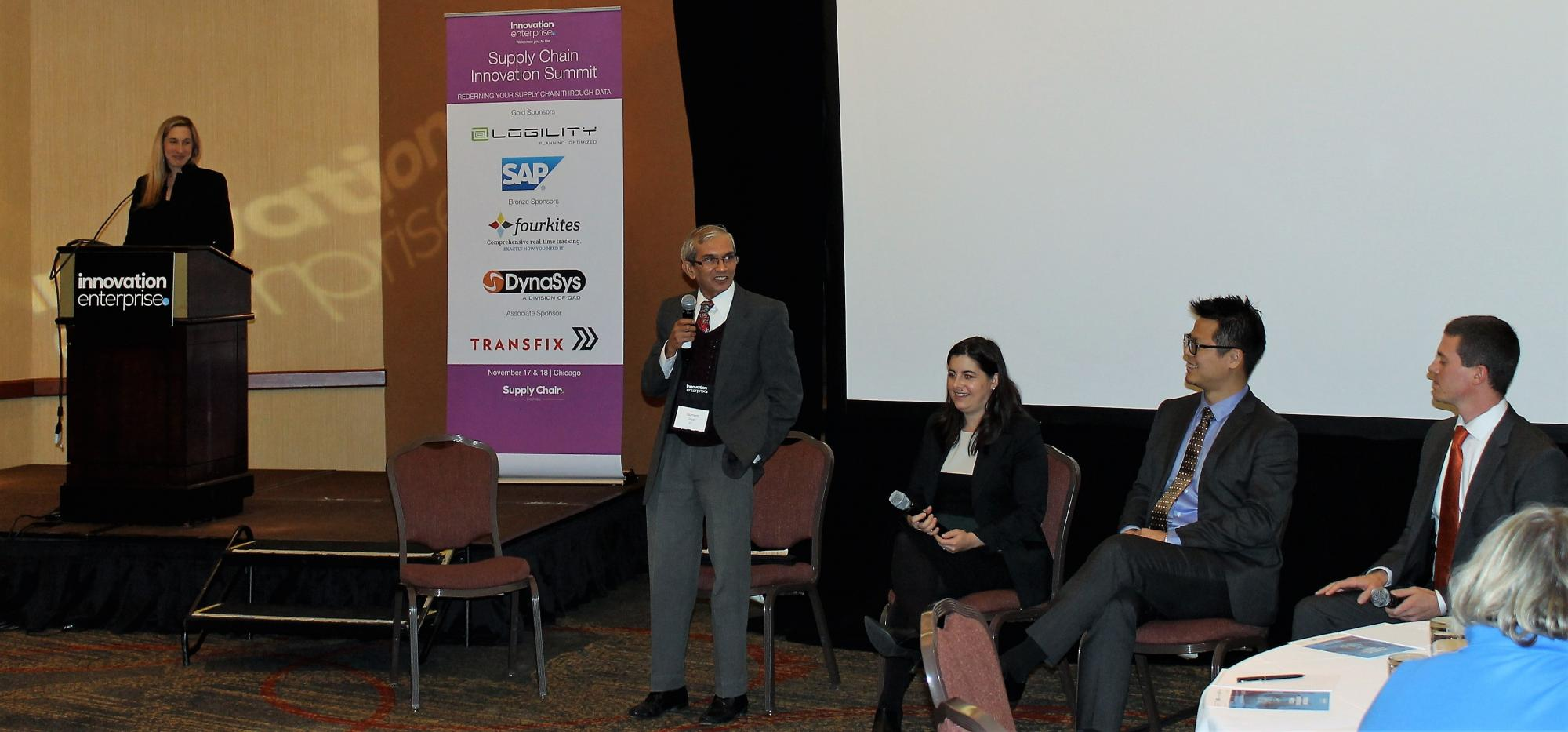 INTM's Gurram Gopal is a panelist at the Supply Chain Innovation Summit in Chicago