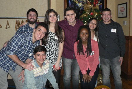 Industrial Tech and Management Students at INTM Holiday Party