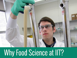 Why Food Science at IIT?